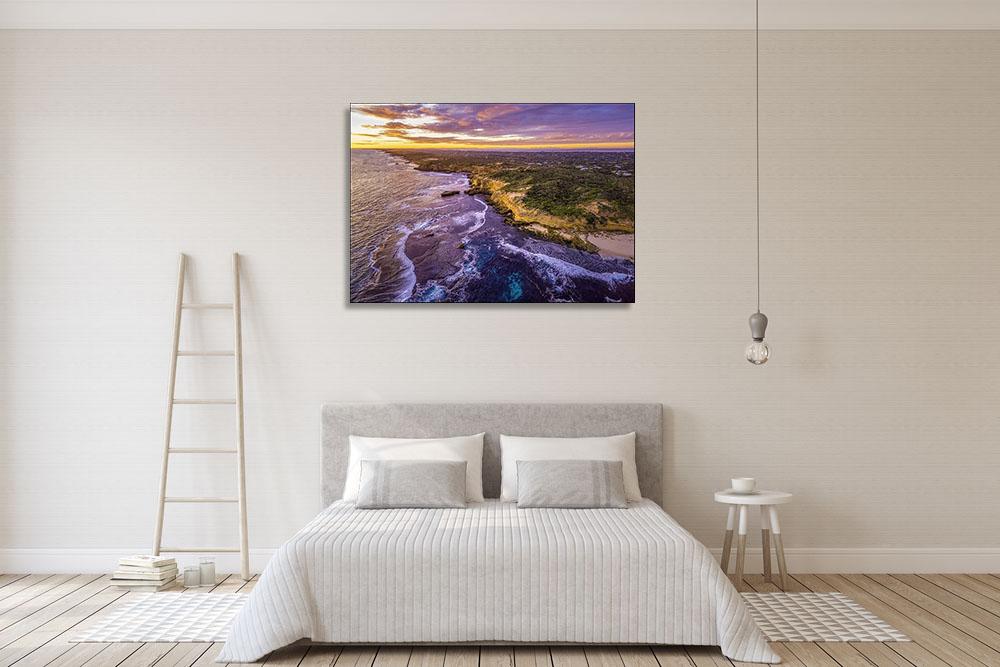 Print on Canvas Seascape Art