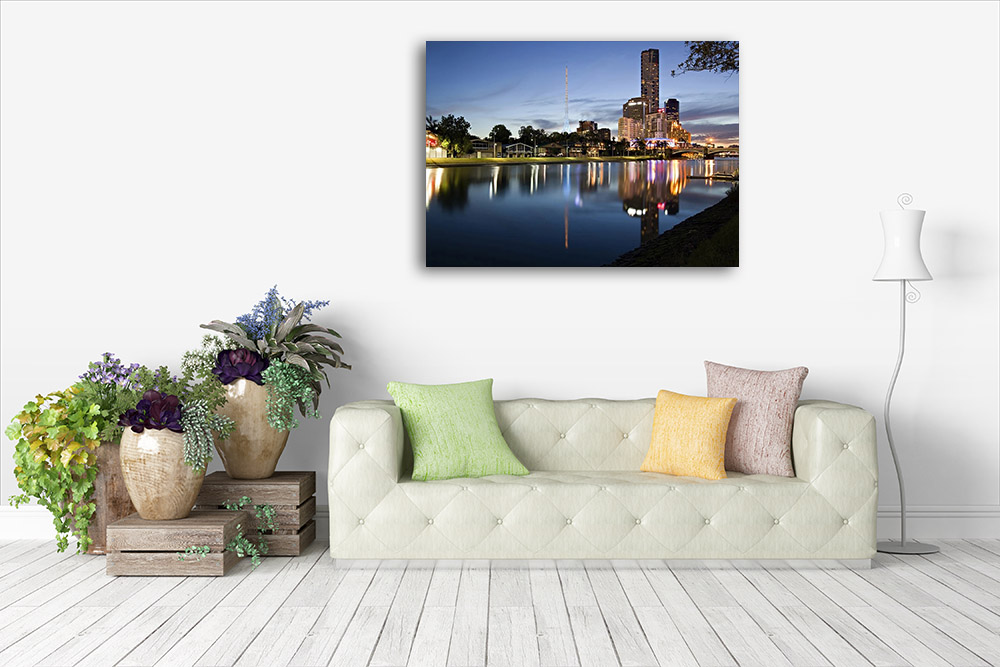 Night Time Photography Canvas Print
