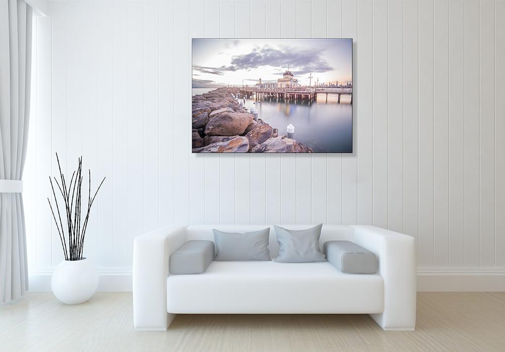 Australia Beach Coast Canvas Print