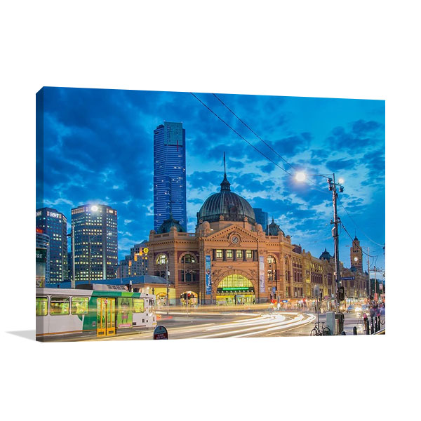 Melbourne Spencer Station | Print Canvas