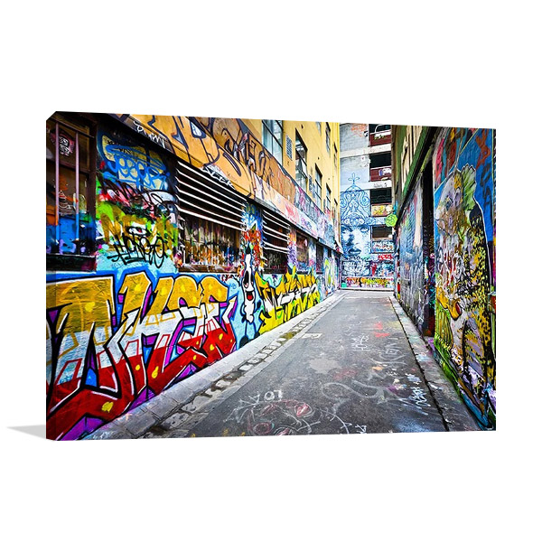 Melbourne Street Australia Print