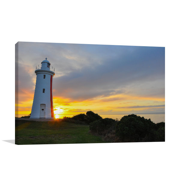Mersey Bluff Sunset Devonport Artwork