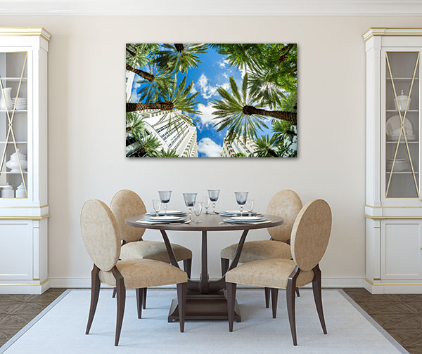Miami Beach Prints Canvas