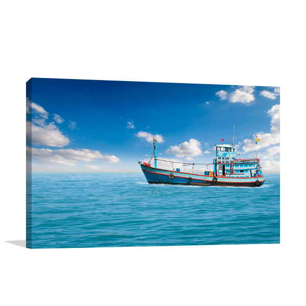 Midst of the Sea Canvas Art