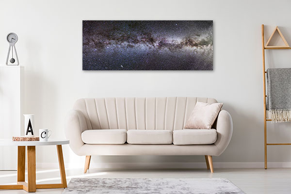 Milky Way Panorama Print Artwork