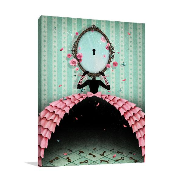 Mirror and Keys Artwork