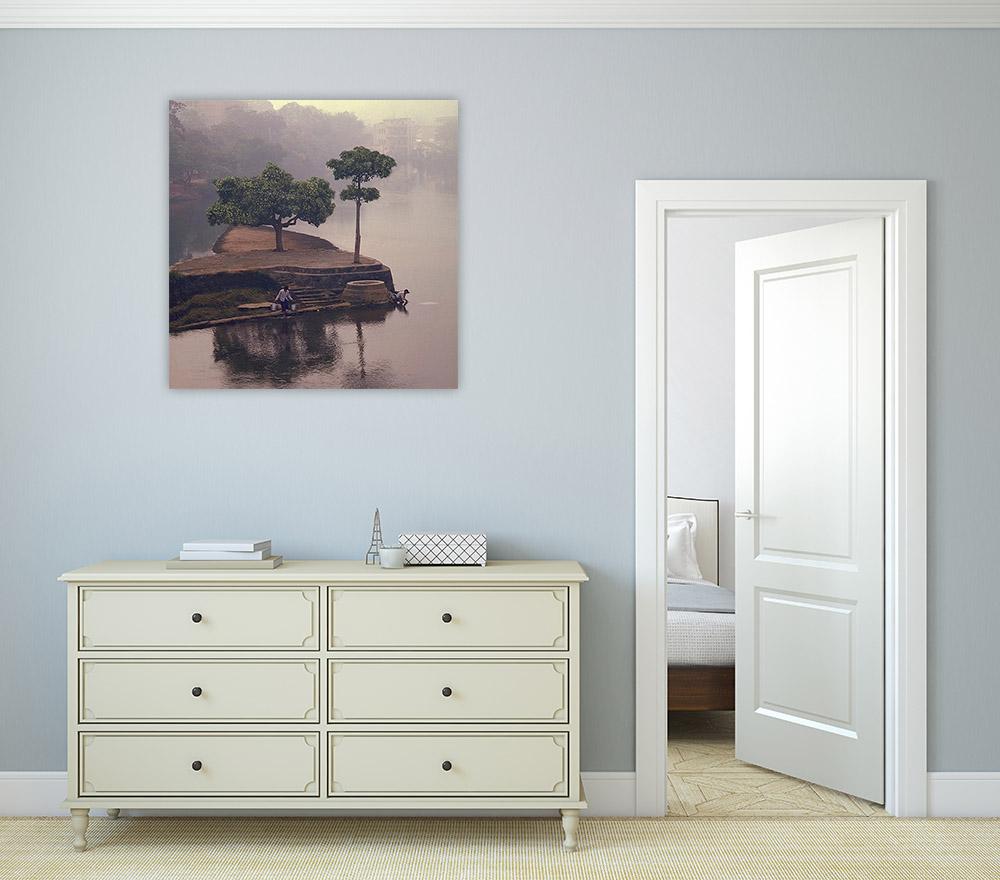 Bedroom Canvas Art Print