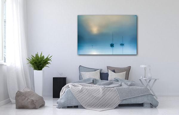 Misty Sunrise Canberra Canvas Prints