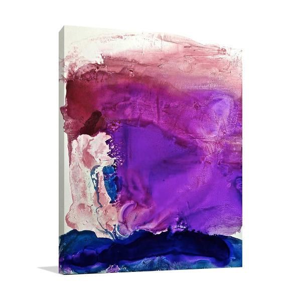 Misty Surreal Ink Flow I Wall Art Print
