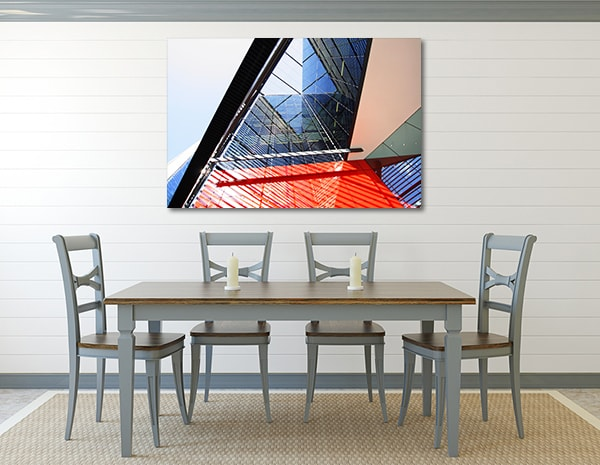 Modern Architecture Art Print Canvas Art