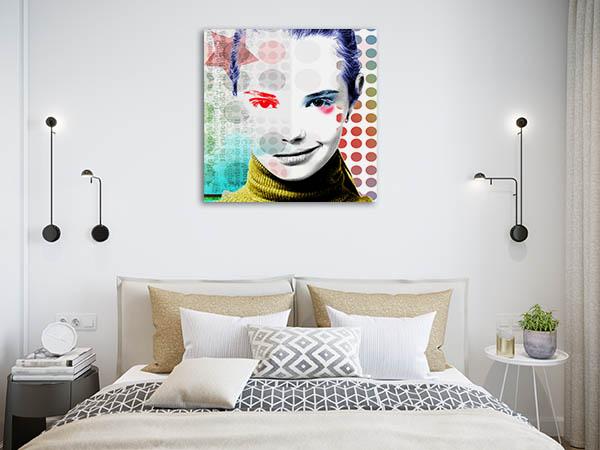Modern Girl Pop Wall Art