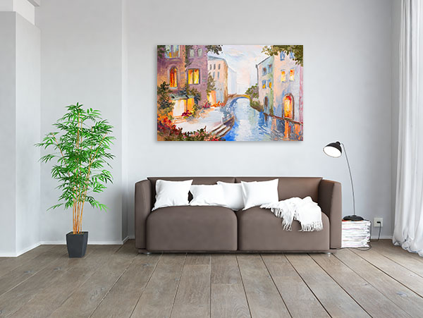 Modern Venice Canvas Art Prints