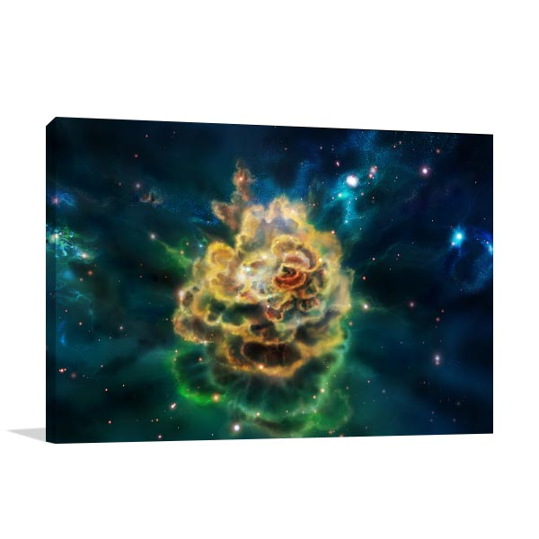 Molecular Cloud Canvas Prints