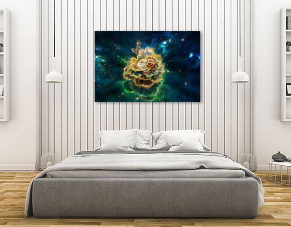 Molecular Cloud Prints Canvas