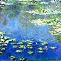 Monet | Blue Water Lilies Replica Painting
