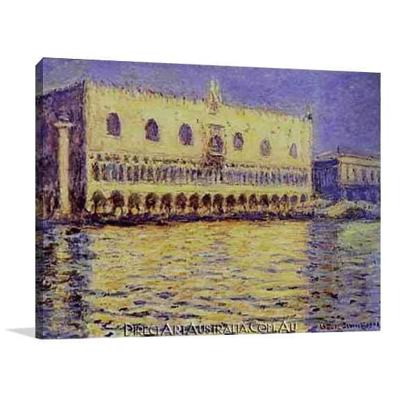 Venice The Doge Palace | Hand Paint on Canvas