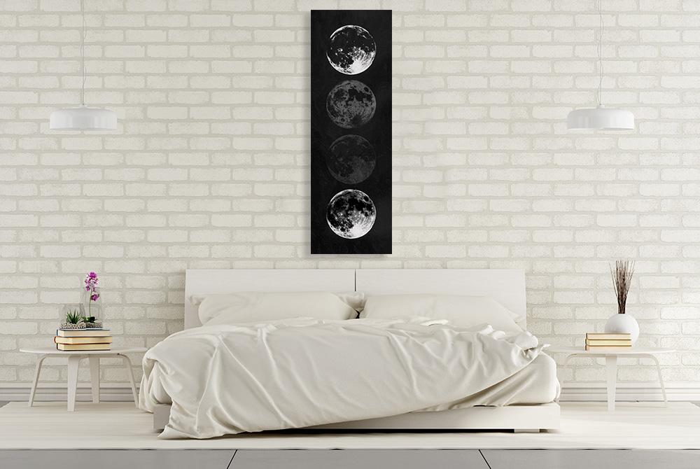 Black and White Panoramic Print