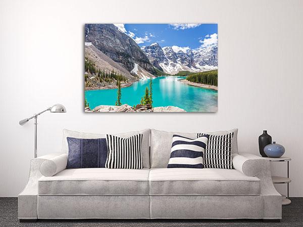 Moraine Lake Prints Canvas