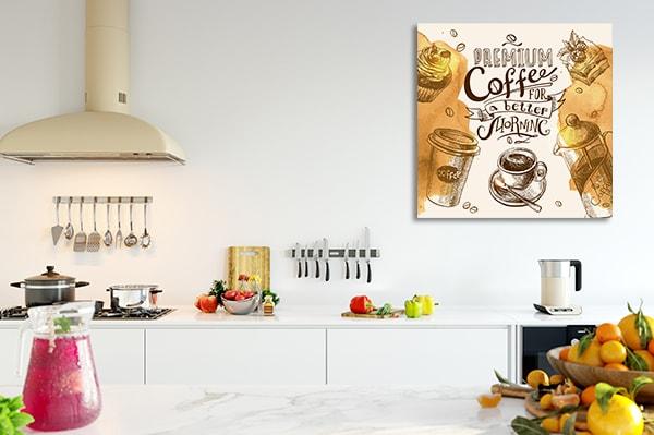 Morning Coffee Canvas Art