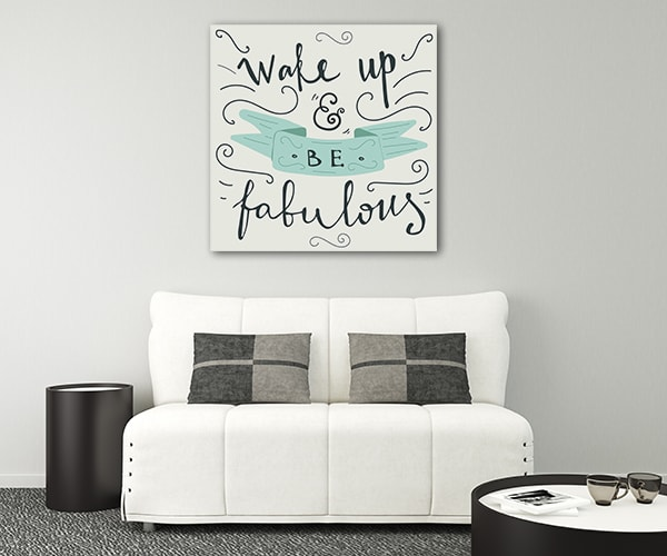 Morning Quote Art Prints