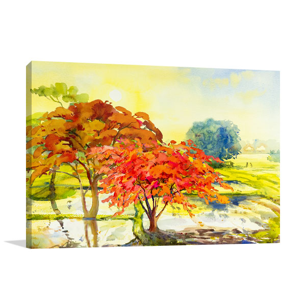 Morning Spring Canvas Art Prints