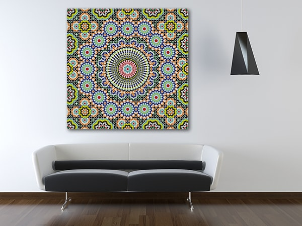 Morocco Seamless Prints Canvas
