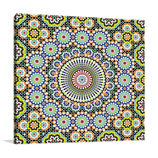 Morocco Seamless Print Artwork
