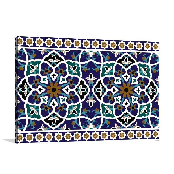 Mosque Pattern Prints Canvas