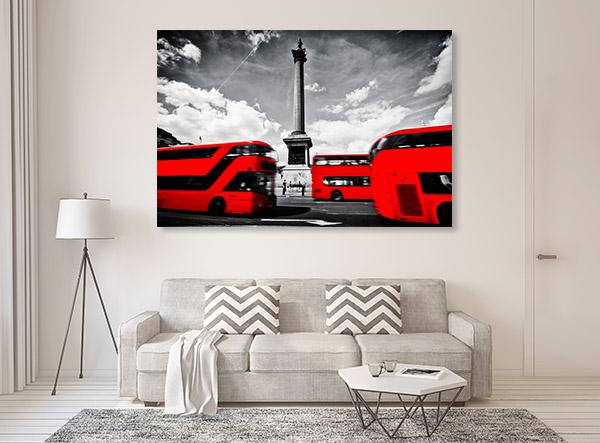 Motion Buses Art Prints