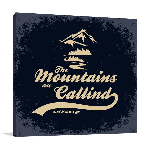 Mountain Calling Artwork