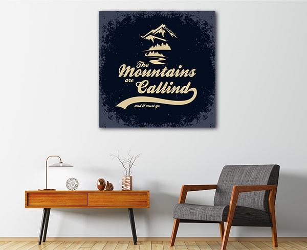 Mountain Calling Canvas Prints