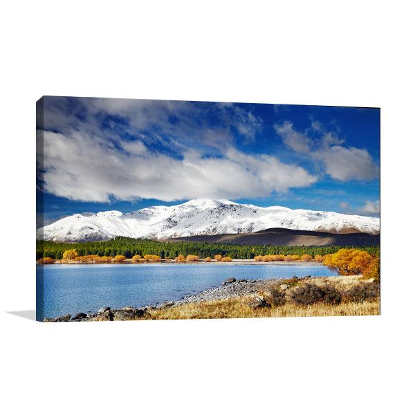 Mountain Landscape Canvas Art