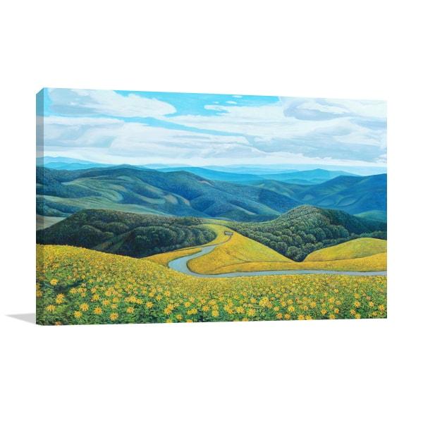 Mountain Top Art Prints