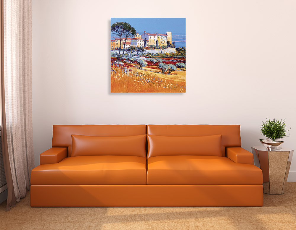 Square Wall Print on Canvas