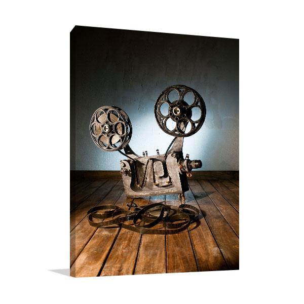 Movie Projector Prints Canvas