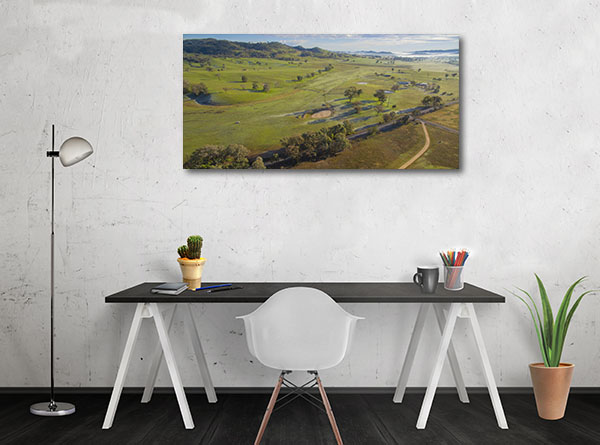 Mudgee Art Print Of Country Side Canvas Art