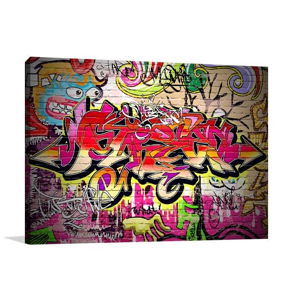 Multicolour Tags Canvas Art Prints