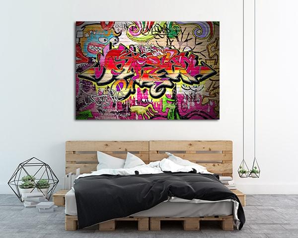 Multicolour Tags Prints Canvas