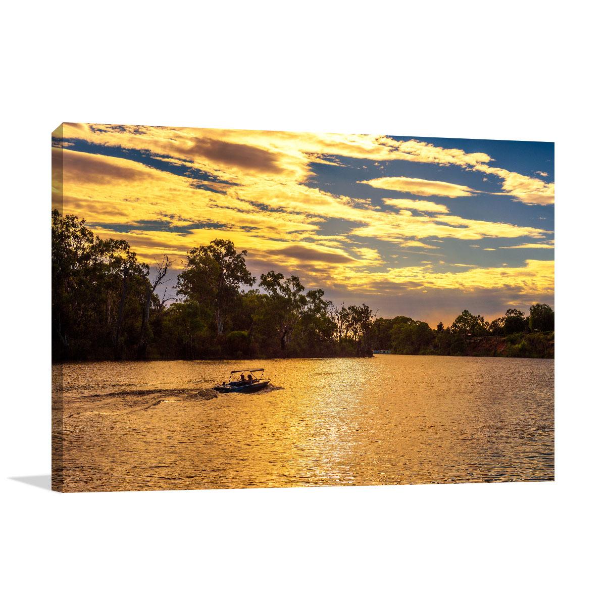 Murray Art Print Sunset