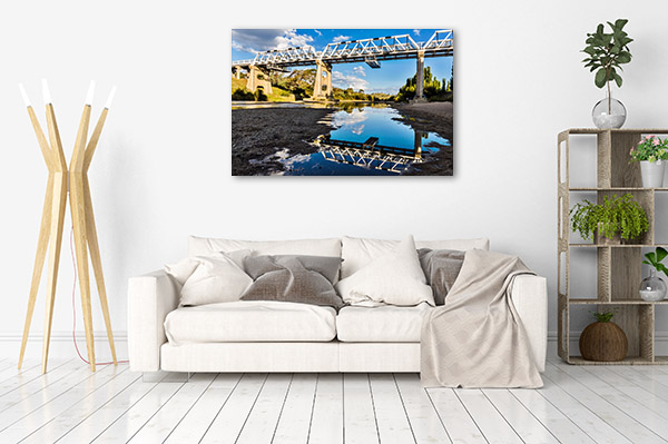 Murrumbidgee River Art Print NSW Reflection Wall Picture