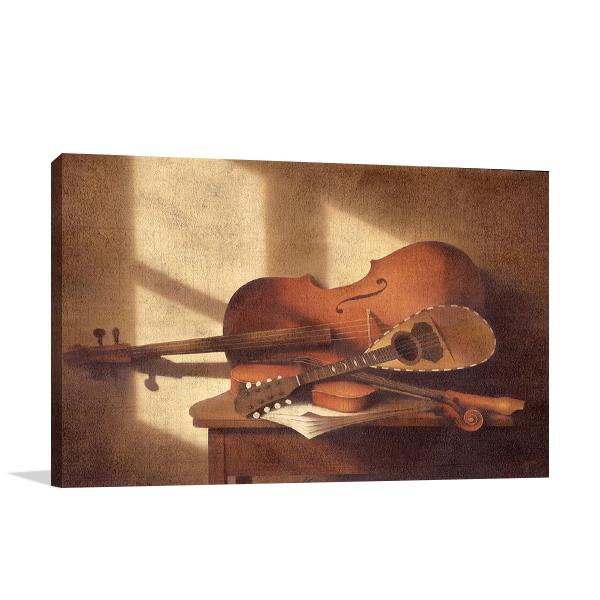 Musical Instruments Wall Art Print