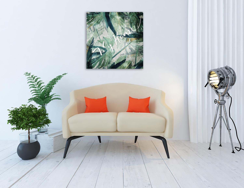 Tropical Canvas Wall Print