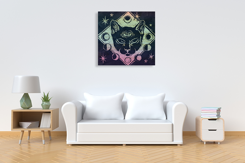 Fantasy Print Canvas Wall Art