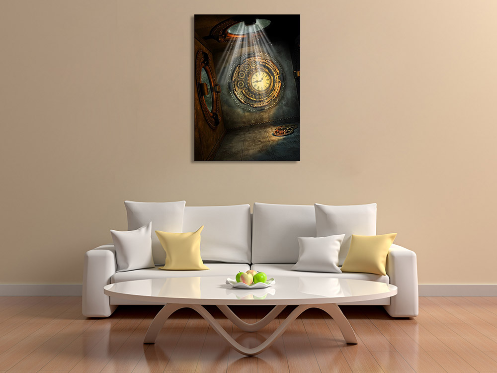Fantasy Art Wall Print on Canvas