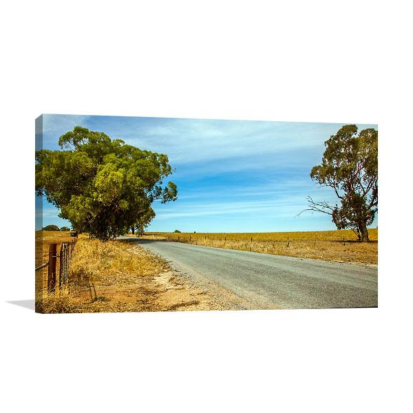 Narrandera Art Print Outback NSW Wall Artwork