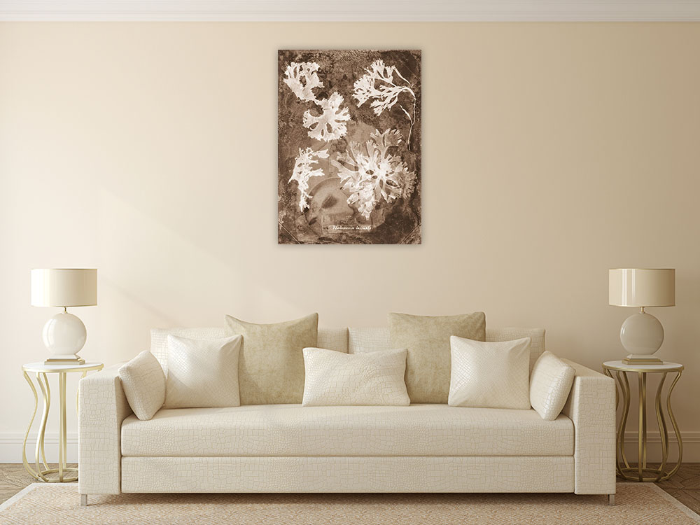 Canvas Wall Art Sepia