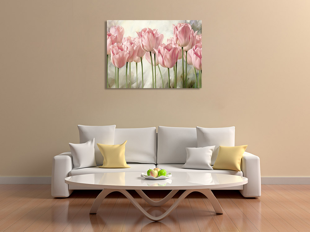 Nature Floral Print on Canvas