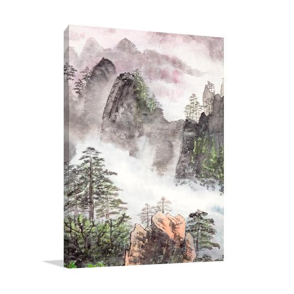 Nature Scenery Chinese Art Prints