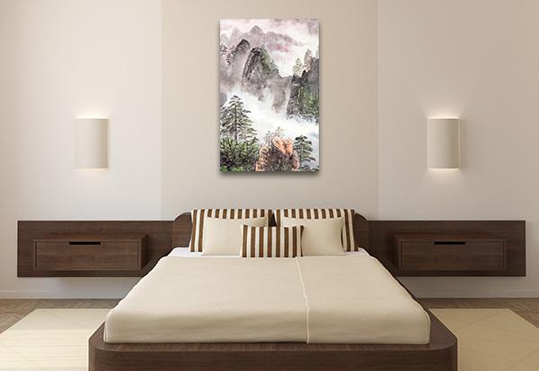 Nature Scenery Chinese Artwork