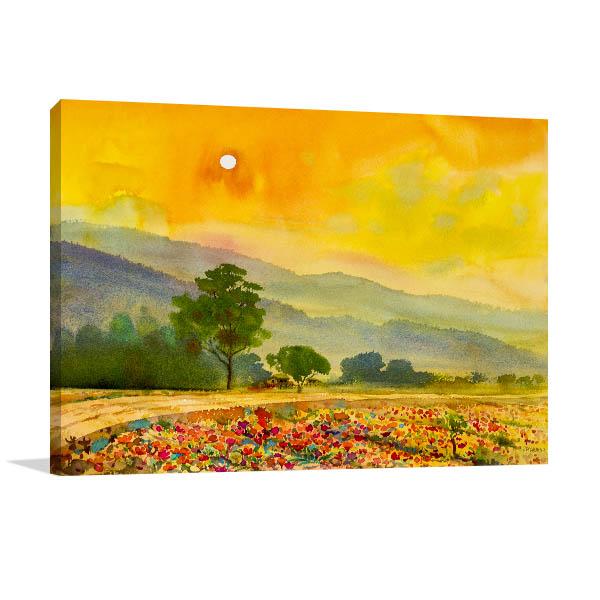 Nature Spring Season Canvas Art Prints
